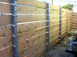 Attractive Project Gallery Sj Fence Co Metal Posts For Wood Lowesn X Medium Version Metal Fence Posts Metal Fence Steel Fence Posts
