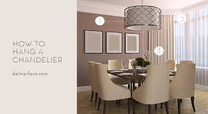 what size dining room chandelier do i