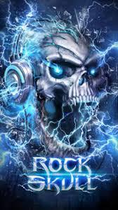 electric skull live wallpaper apk for