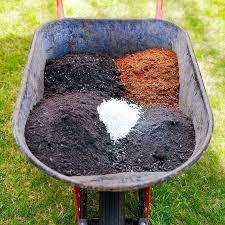 raised garden bed soil mix ing tips