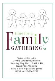 family reunion invitation templates greetings island