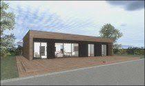 maison ossature bois bbc pour 100 000 euros