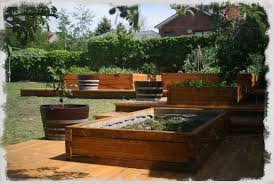 dovetail timbers raised timber garden