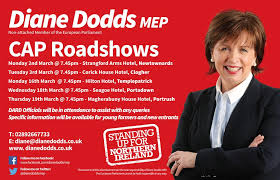 DIANE DODDS MEP CAP ROADSHOW | Michael Fisher's News