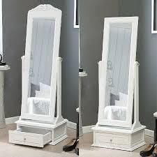 white floor cheval mirror full length