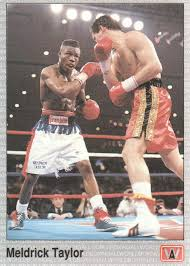 1991 All World Boxing Cards #38 Meldrick Taylor at Amazon's Sports  Collectibles Store