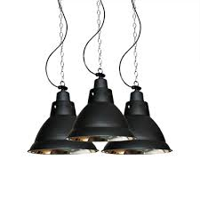 industrial style single bulb pendant