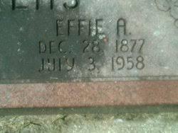 Effie Alberta Allen Stevens (1877-1958) - Find A Grave Memorial