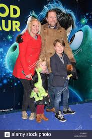 London, UK. Beth Johnson, Rufus Hound, Hilda and Alby at the UK ...