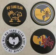 Wu Tang Clan Vinyl Sticker Lot Of 4 Decal Shaolin Killa Bees 36 Chambers Rza Ebay