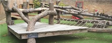 copper beech natural play equipment and
