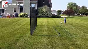 backyard soccer rebounder you