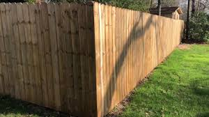 How Much Does A 6 Wood Privacy Fence Cost To Install The Price Of My 180 Feet Of Wooden Fencing Youtube