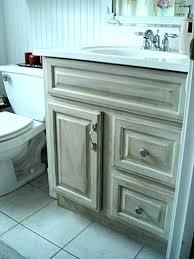 distressed bathroom vanities wood