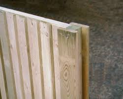 Slotted Wooden Fence Posts Jacksons Fencing