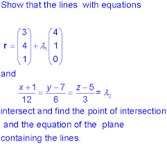 vector equations