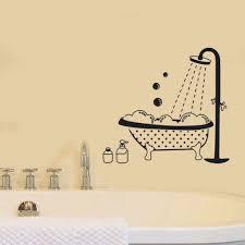 Happy Bubble Toilet Bathroom Creative Waterproof Stickers Bathtub Sticker Wall Sticker Models Bathroom Decor Home Decor 4 6 Wall Stickers Aliexpress