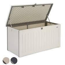 christow waterproof garden storage box