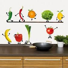Kitchen Fruit Wall Decals Google Search Kitchen Wall Decals Wall Decals Modern Wall Decals