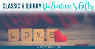quirky valentine s gift ideas