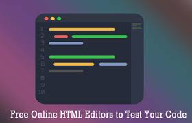 Free Online HTML Editors to Test Your Code | Satvat Infosol Blog