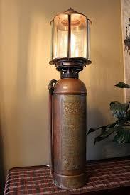 antique fire extinguisher lamp ca1930