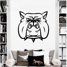 Shop Wall Decal Dog Evil Bulldog Sports Animals Design Wall Decals Room Vinyl Stickers Home Decor Overstock 11180407