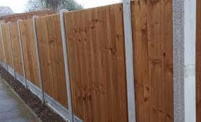 Concrete Posts And Gravel Boards For Strong Durable Fences