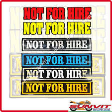 Sticker Not For Hire Sign Shopee Philippines