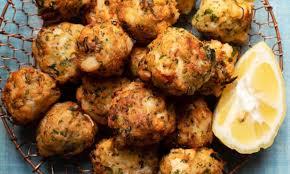 crab and harissa croquettes ...