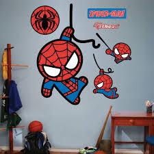 Kawaii Spider Man Realbig Wall Decal