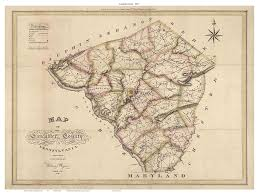 Lancaster County PA 1821 Old Map ...