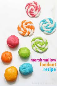 homemade marshmallow fondant recipe