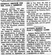 Alice Sherburn obituary - Newspapers.com