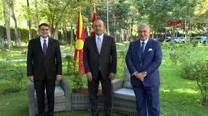 ANKARA Dışişleri Bakanı Mevlüt Çavuşoğlu Kuzey Makedonya Anayasa Mahkemesi  Başkanı Salih Murat ile... - Haberler - Haber Ofisi