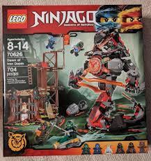 LEGO Ninjago 70626 DAWN OF IRON DOOM - 704 piece set