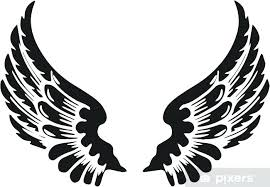 Angel Wing Sticker Religious Wings Decal App Sutanrajaamurang