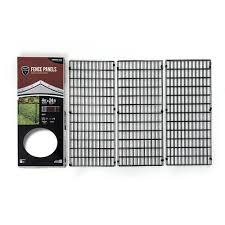 Yardgard Select Steel Fence Panel Kit Hoover Fence Co