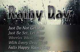 rainy day quotes quotes hunter