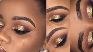 gold eye makeup for prom saubhaya makeup