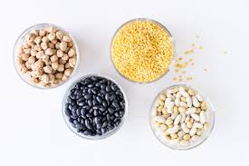legumes and beans in a healthy t