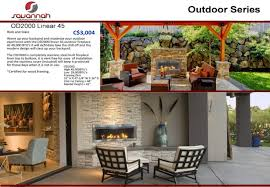 built in outdoor fireplace ideas