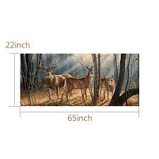 Forest Animals Deer Family Rear Window Graphic Decal Sticker For Truck Suv Jeep