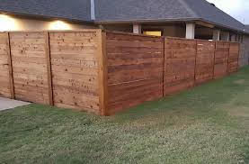 Taylor Made Fence Stained Corner Angle Cropped Wood Fence Design Fence Stain Cedar Fence Stain