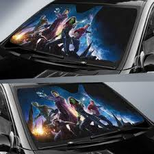 Guardians Of The Galaxy Car Sun Shades Amazing Best Gift Ideas 2020 99shirt