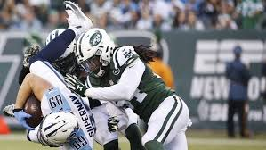 The Day - Fitzpatrick, defense lead Jets past the Titans - News from  southeastern Connecticut