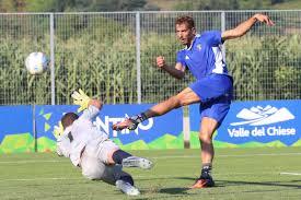 Cinque reti del Pisa nell'allenamento condiviso con il Calcio Chiese