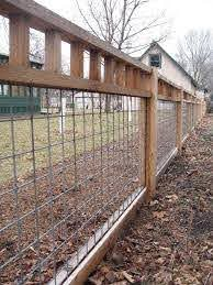 Fence Idea Use Cattle Panels With 2x4 S Onthe Top Frame The Ends In To Secure The Posts And Use 1x4 S On B Cheap Garden Fencing Backyard Fences Cattle Panels