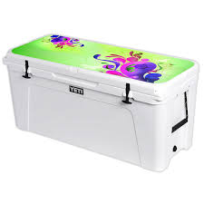 Vision Graphic Mightyskins Skin Compatible With Yeti Tundra 160 Qt Cooler Lid Wrap Cover Sticker Skins Blue Ice Rakuten Com