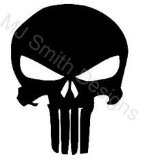 Punisher Skull Hood Decal Challenger Jeep Charger Etsy